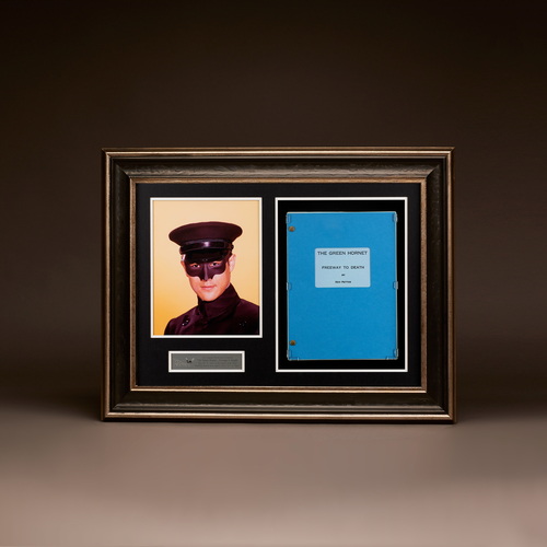 The Green Hornet 'Freeway to Death' Shadowbox Display