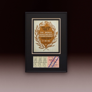 Shop Ticket Muhammed Ali Vs Henry Cooper Site Poster Website Bg