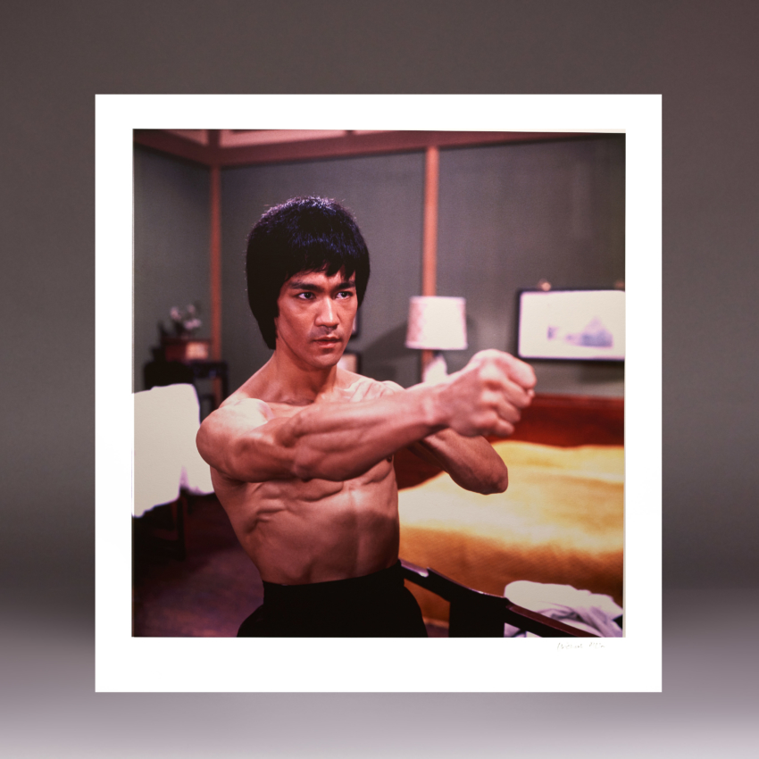 1 New Bruce Lee Dragon Fist Signed By Michael Allin