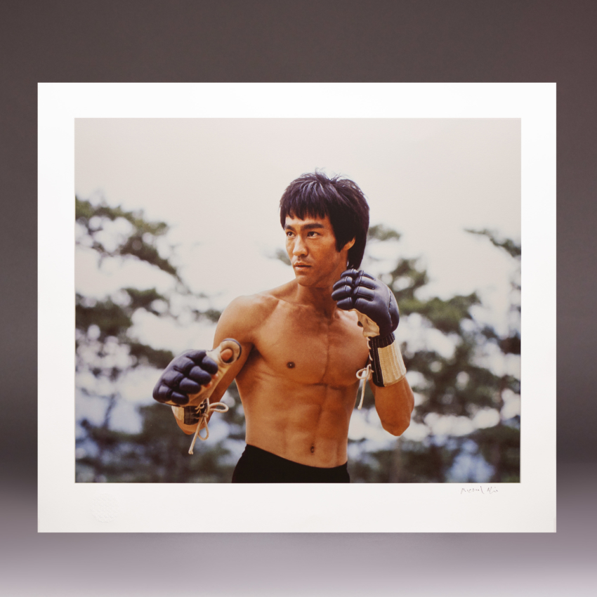 1 B New Bruce Lee The Moment Before The Battle Signed By Michael Allin