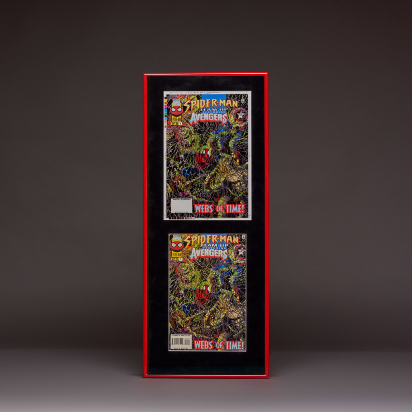 New Nh Spider Man And The Avengers Framedr